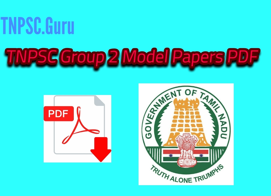 TNPSC Group 2 Model Question Papers